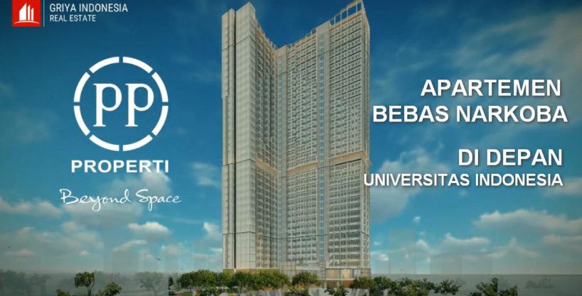 Evenciio, Apartemen Anti Narkoba di Depan Universitas Indonesia