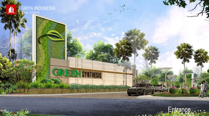 green synthesis Entrance
