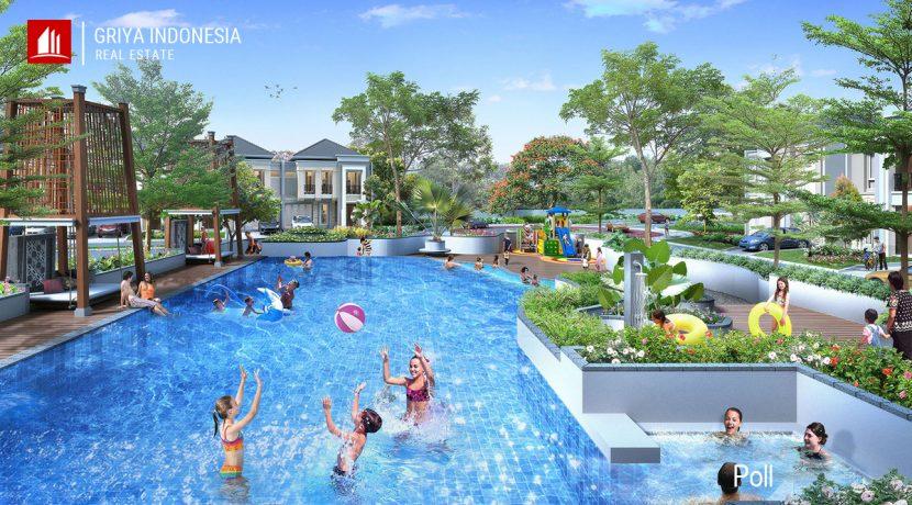 kolam renang perumahan green syntesis