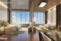 apartemen tipe 2 kamar kairaku residence karawang