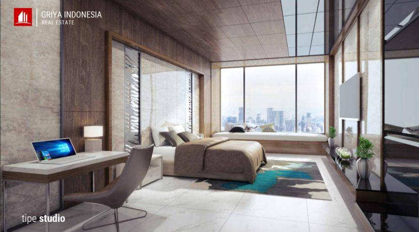 apartemen tipe studio kairaku residence karawang
