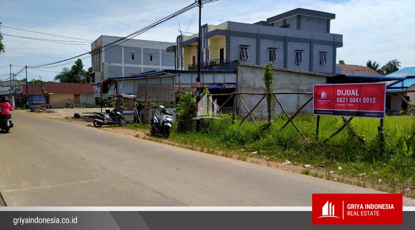 Tanah Dijual Pinggir Jalan Raya Desa Kapur Kubu Raya2