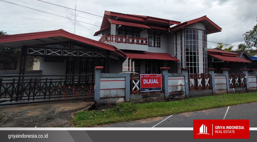 Rumah Dijual Jl Rasuna Said Samping Kantor Camat Pontianak Timur