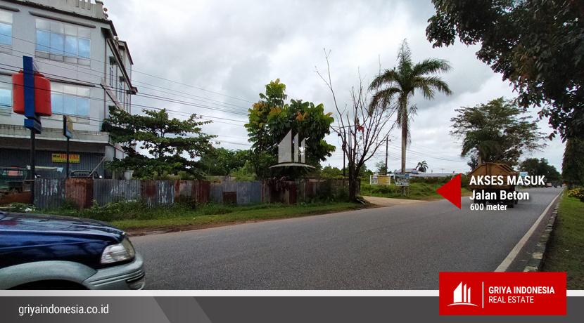 Jalan Masuk Jl Parit Derabak