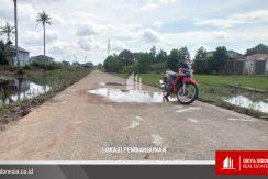 Lokasi pembangunan perumahan jalan karet pontianak