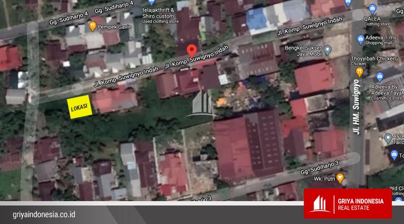 Lokasi Tanah Jalan Suwignyo