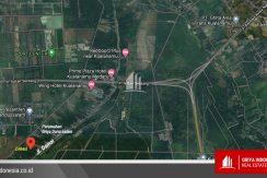 Tanah Jalan Damai Dekat Bandara Kuala Namu