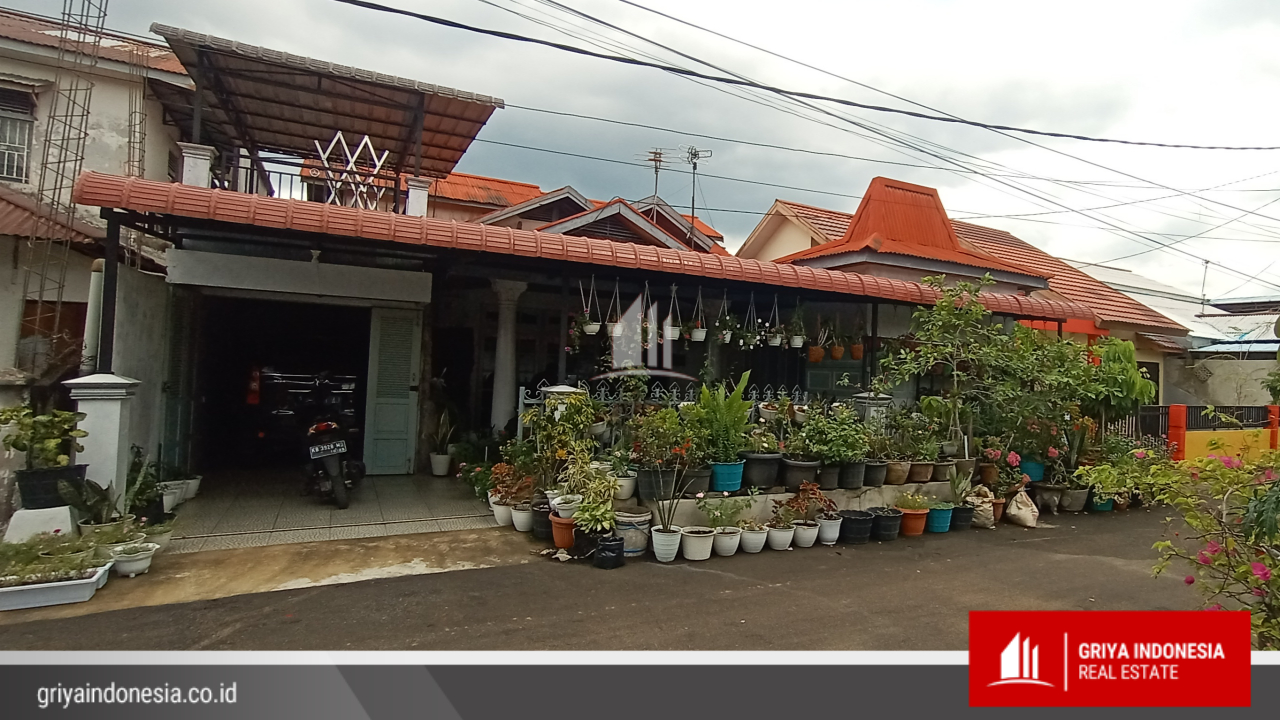 Rumah 2 Lantai di Pondok Indah Lestari, Dekat Dari Gaia Mall Kubu Raya