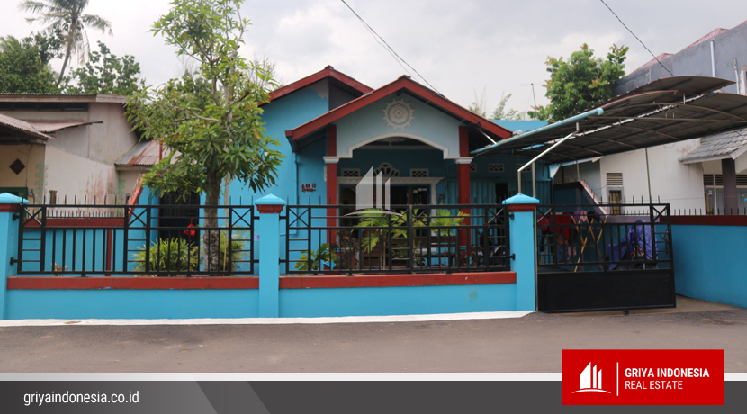 Rumah Dijual Jalan Tabrani Ahmad Komplek Palestin Indah Pontianak